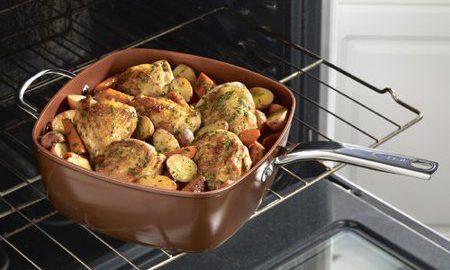 T-fal Endura 7 qt. Saute Pan with Lid
